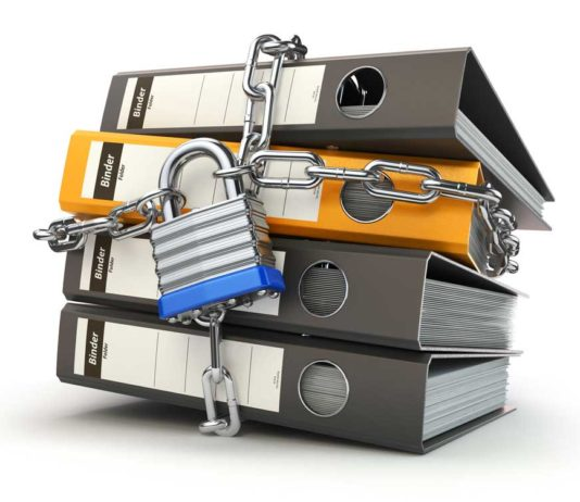 secure business document